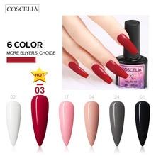 6 pièce/ensemble 8ML offre spéciale 40 couleurs Gel vernis à ongles Art des ongles UV LED Gel pour Extension dongle
