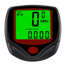 Mountainbike Fiets Code Tafel Riding Snelheidsmeter Kilometerteller Met Blauwe Nacht Licht