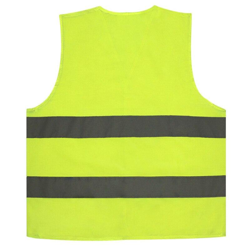 Ferramenta ao ar livre colete amarelo pano reflexivo coletes tráfego saneamento roupa do trabalhador