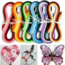 Quilling-outil de bricolage bricolage   100 pièces, rayures Origami, fait-maison, créer des cadeaux, OCT998