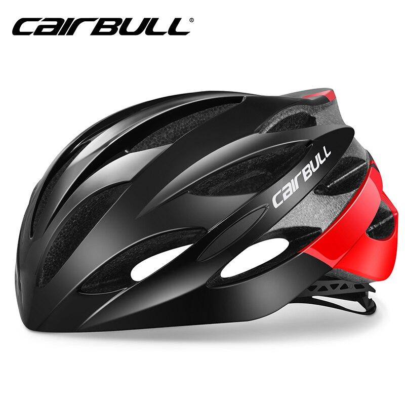 Cairbull capacetes de bicicleta das mulheres dos homens leve capacete mtb mountain road bike integralmente moldado ciclismo capacetes protetor