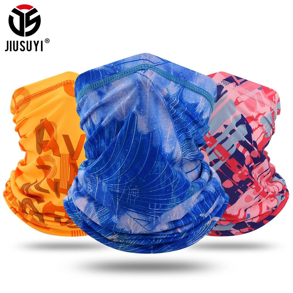 Модный шейный шарф-трость, мягкий эластичный дышащий бандана, эластичная повязка на голову, ветрозащитное кольцо, шарфы, Балаклава для женщ...