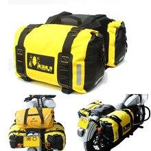 60L Impermeabile Borsa Da Sella Del Motociclo Kit Knight Rider Multi-Funzione Portatile Borse Da Viaggio Universale Borse di Coda Moto Sacchetto Dei Bagagli