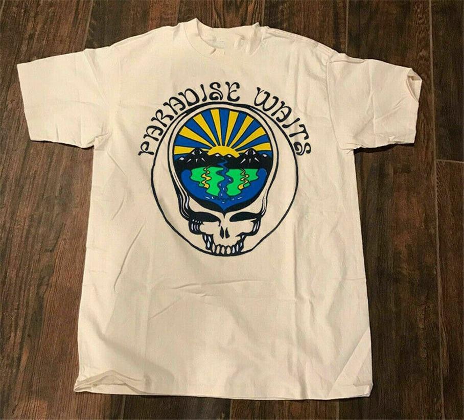 ¡Vintage Grateful Dead Paradise espera raro nueva Camiseta talla S-2Xl.! Camiseta de talla grande