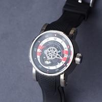 2021 New Design Reef Tiger/RT Luxury Mens Sport Watch Waterproof 100 M Mechanical Watches Rubber Strap Steel Watch RGA30S7