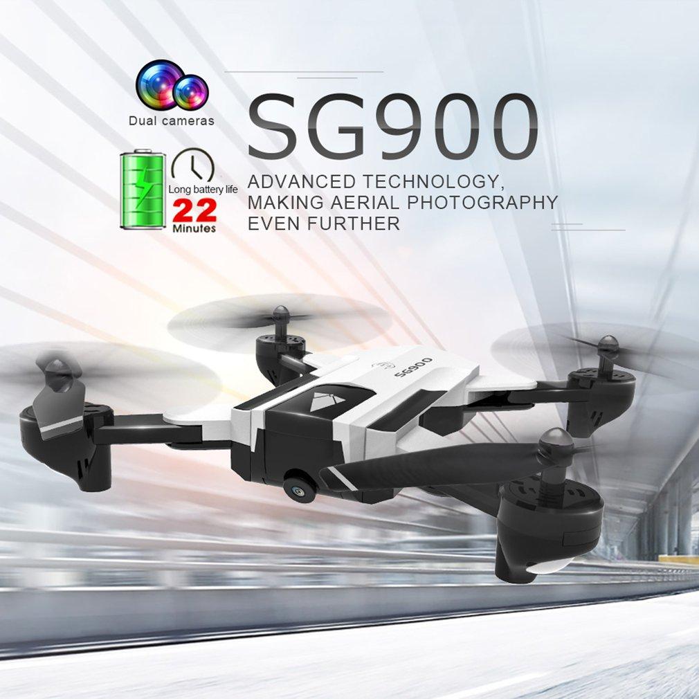 SG900 720P 2,4G imagen sensor seguimiento plegable FPV GPS posicionamiento retorno 22 minutos Flying Gesture foto/Video RC Quadcopter