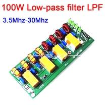 100W Short wave radio power amplifier Low-pass filter LPF HF low pass LPF 3.5M-30Mhz for Ham Radio CW FM