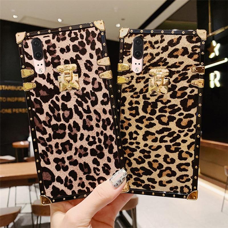 leopard silicon case for xiaomi redmi note 7 mi 9 redmi 7 case cover fashion Anti-knock shockproof soft phone bag capa fundas