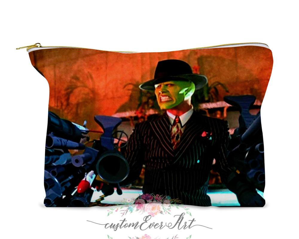 Stanley Ipkiss bolsa de cosméticos estuche de cosméticos bolsa de maquillaje lindo bolsa de viaje para regalo de mujer