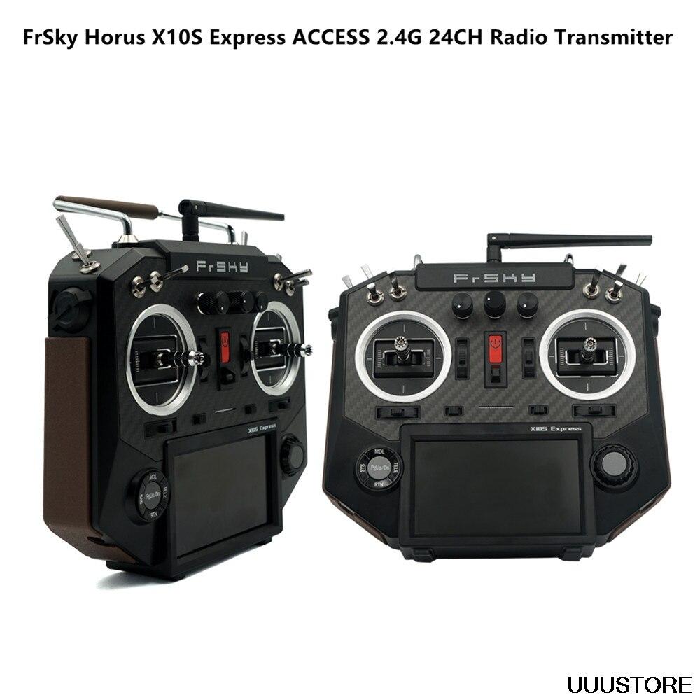 FrSky HORUS X10S Express 24CH acceso ACCST D16 Mode2 PARA sistema de entrenamiento inalámbrico transmisor RC PARA RC FPV Drone avión DIY juguete