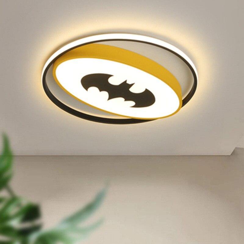مصباح سقف LED بتصميم حديث ، مصباح سقف مزخرف ، مثالي لغرفة النوم أو غرفة الأطفال.