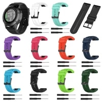 26mm replacement silicone wristband watch strap for garmin fenix 6x 5x puls 3 hr
