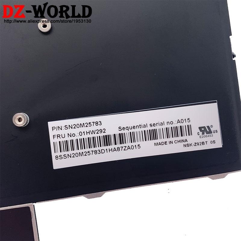 New Original ES Spanish Backlit Keyboard for Lenovo Thinkpad P51 P71 P50 P70 Laptop 01HW292 01HW210 00PA339 00PA257