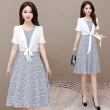 High-End Ladies Elegant Dress Suit for Women 2021 New Summer Small Lightly Mature Suspender Skirt Tw