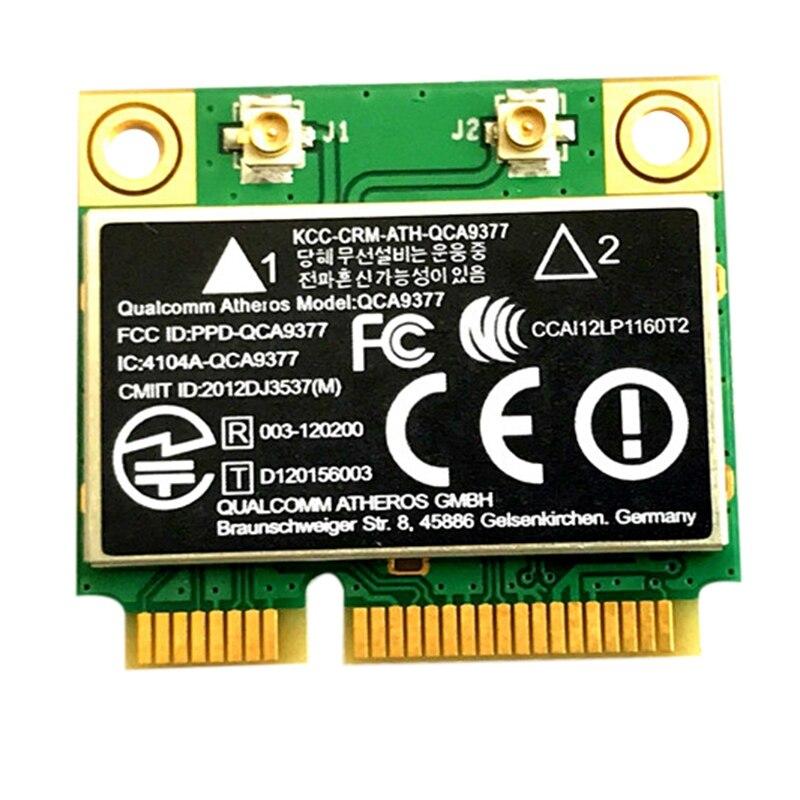 QCA9377 двухдиапазонный AC wifi модуль wifi адаптер Mini PCI-E 2,4G/5G