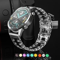 silicone strap 20mm 22mm for samsung galaxy watch 46mm 42mm for amazfit pace huawei watch gt 20mm 22mm watchband bracelet