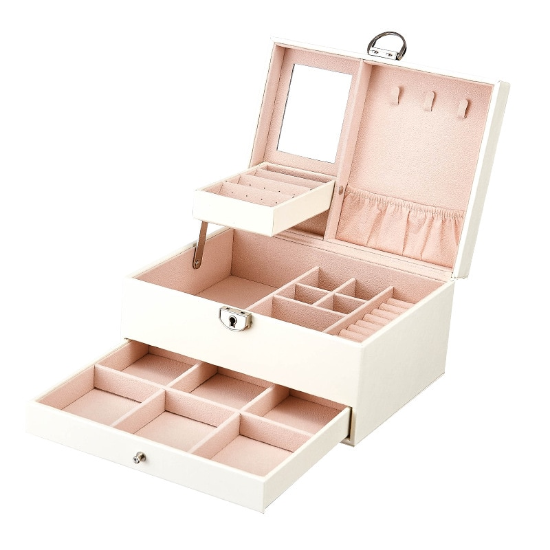 Armazenamento de caixa de madeira dyson secador de cabelo compõem organizador de armazenamento organizador cosméticos produtos trending 2020