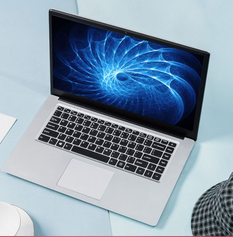 2020 barato 14,1 pulgadas estudiante portátil 6GB RAM 64GB Notebook N3350 Quad Core Ultrabook con Webcam WiFi Bluetooth