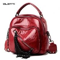 olsitti new korean style shoulder bags for women 2021 designer bag pu leather fashion handbags casual simple student crossbody