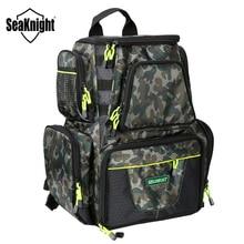 SeaKnight SK004 sac de pêche 25L 7.5L grande capacité sac multifonctionnel sac à dos sac de pêche en plein air 44*41*20 /38*34*18cm