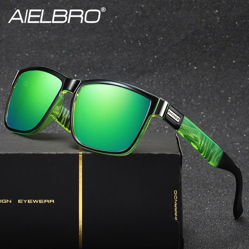 AIELBRO gafas de sol polarizadas al aire libre para hombres, deportes, senderismo, bicicleta de montaña, pesca, gafas de sol para mujeres, gafas UV400