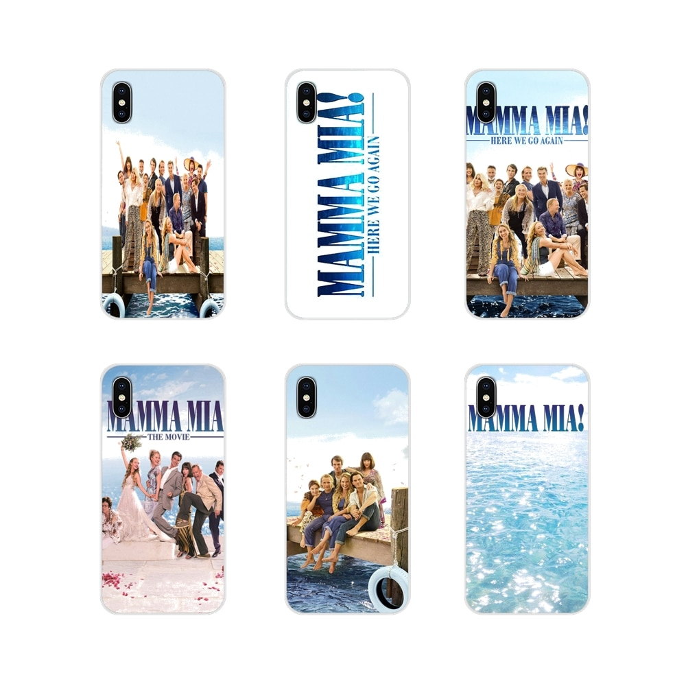 Para Samsung Galaxy J1 J2 J3 J4 J5 J6 J7 J8 Plus 2018 Prime 2015 2016 2017 Acessórios Do Telefone Shell cobertura de Mamma Mia! Burada Tekrar