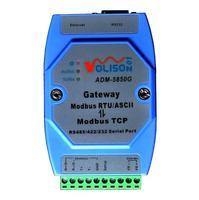 ADM-5850G Industrial Modbus gateway server Modbus TCP to MODBUS RTU/ASCII with RS485/422/232 & Ethernet Port Modbus support Mast