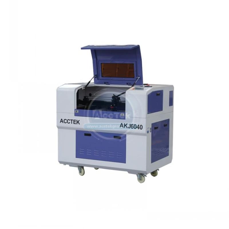 6040 мини станок для лазерной резки с ЧПУ цена 100 Вт CO2 станок для лазерной резки для дерева