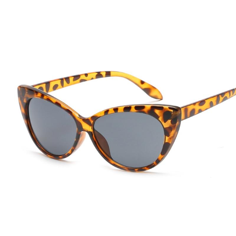 Fashion Cat Eye Sunglasses Women Brand Designer Luxury Sun Glasses For Women Leopard Small Shades Female Lady
