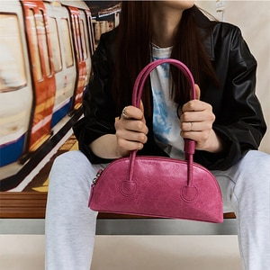 Women Underarm Bag 2021 Trend Clutch Luxury Leather Handbag Designer High Quality Baguette Shape Shoulder Bag New Bolsa Feminina