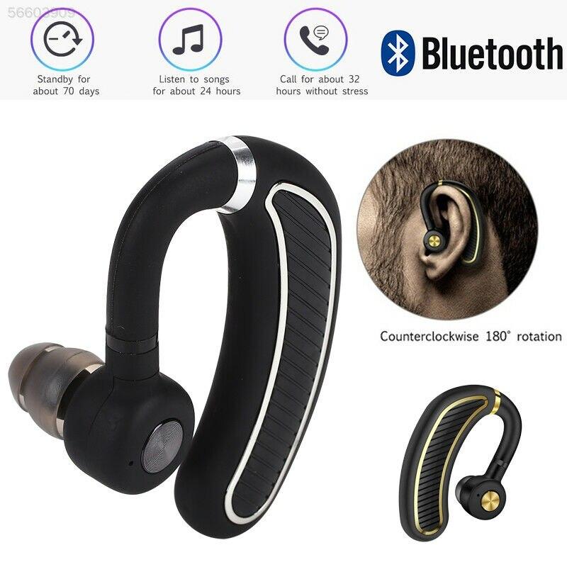 K21 Unilateral Super Larga modo de reposo auriculares deportivos HD auriculares de un solo negocio auriculares con gancho para la oreja auriculares Bluetooth manos libres