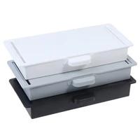 under desk storage box invisible drawer desk bottom paste type finishing box