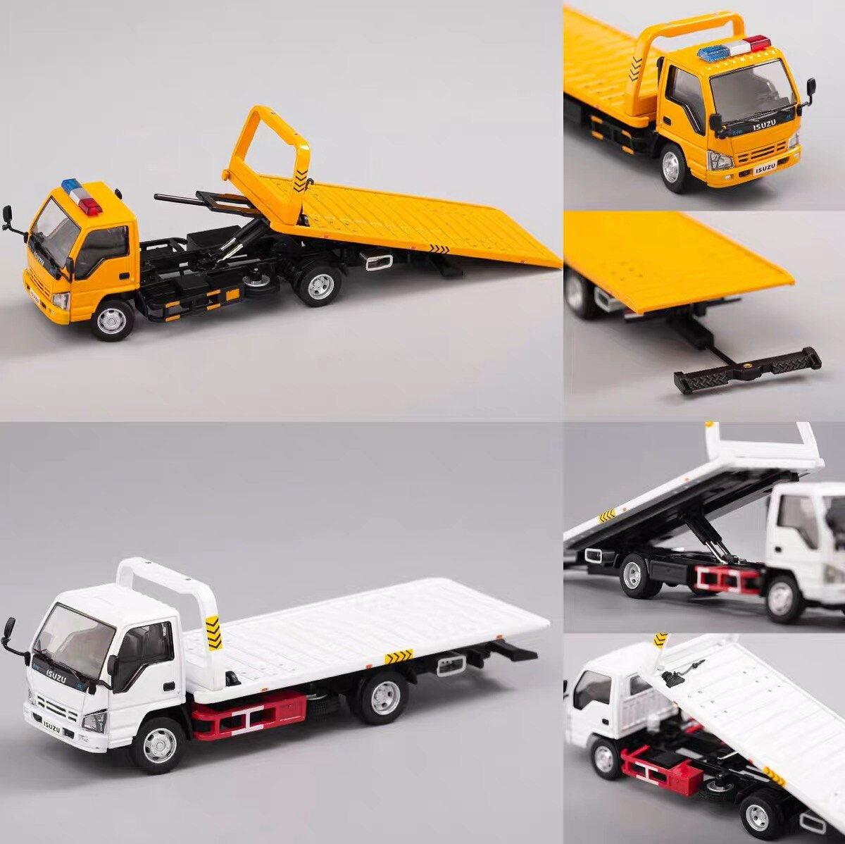 Pre-Order GCD 164 Isuzu N Series Reward Flatbed Tow Truck DieCast Model Car