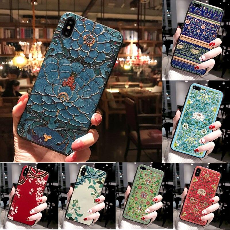 3D Emboss Case For Huawei Nova 5T Case Retro Silicone Soft TPU Phone Cover For Huawei Nova 7i Case Coque Nova5T P30 Lite Y6S Y9S