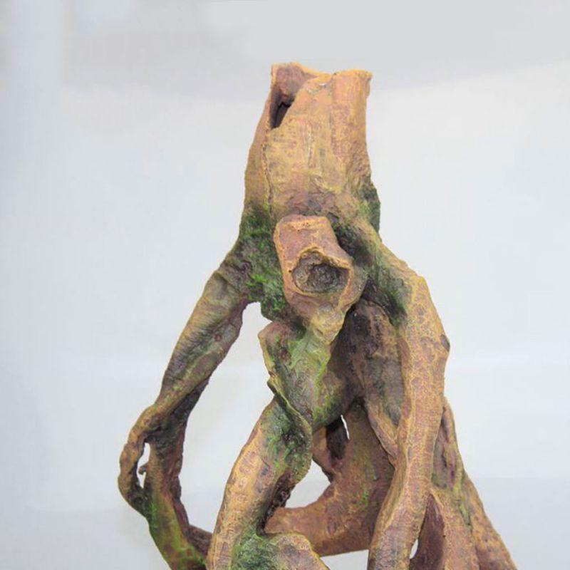Resina Driftwood decoración para decoraciones de acuario PXPC