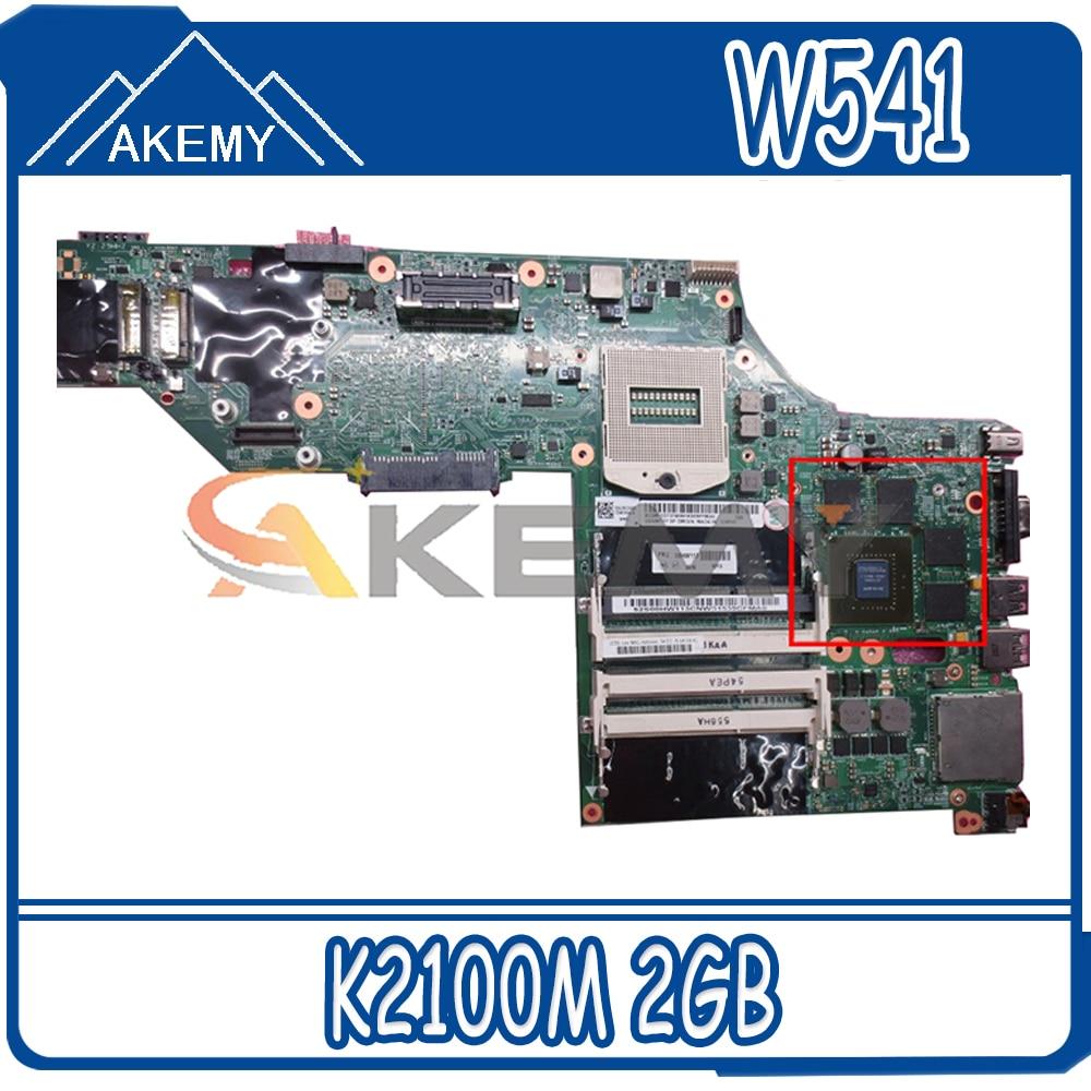 Akemy لينوفو ثينك باد W541 W540 اللوحة الأم GPU K2100M 2GB اختبار العمل FRU 00HW114 04X5333 00HW146 00HW124 04X5301