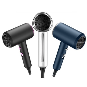 220V Hair Dryer 1400W, Powerful Blow Dryer with Negative Ion Technology, 3 Heat Settings, 1 Cold Button, Hair Blow Dryer