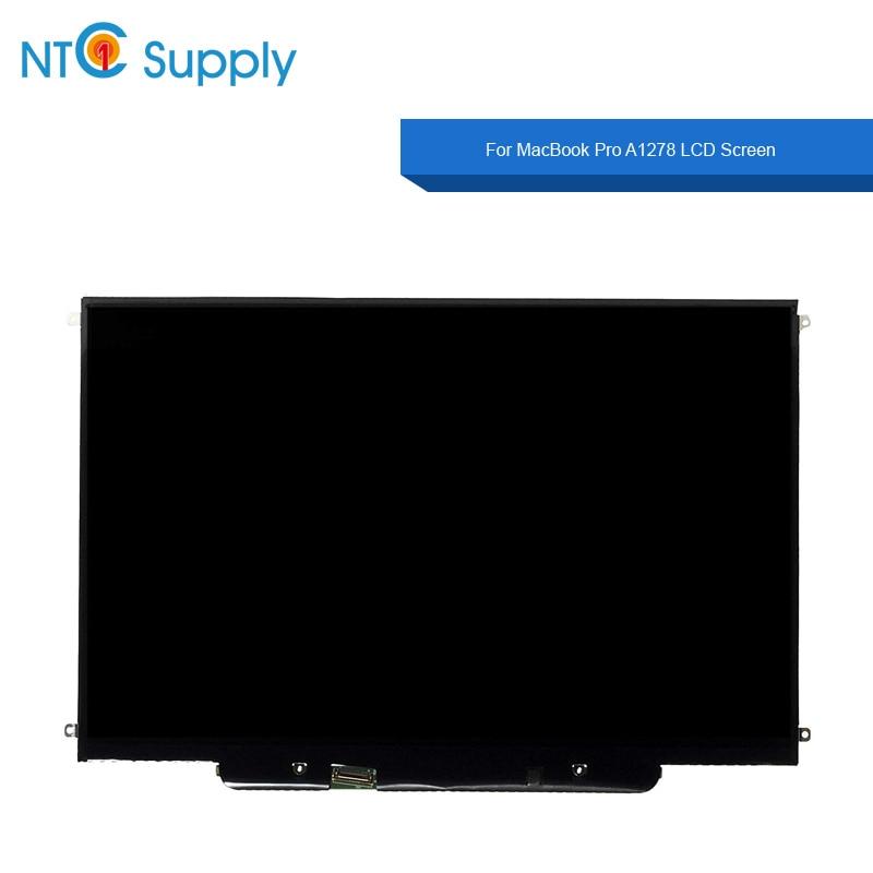 "NTC Supplie nuevo Panel LCD A1278 para Macbook Pro 2011 2012 años 13,3 ""A1278 LCD pantalla Panel reemplazar A1278 LCD vidrio"