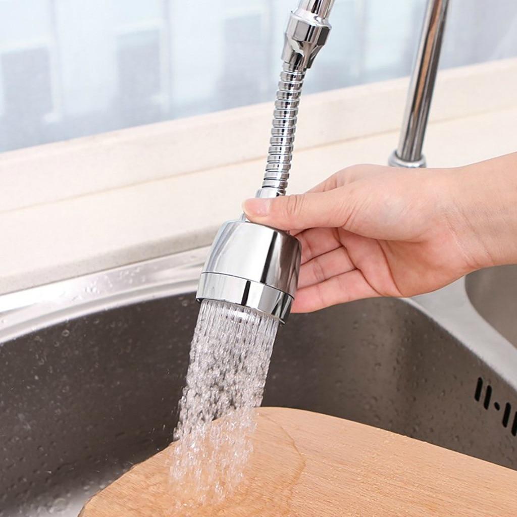 4 Uds 360 grados grifo aireador de cocina giratorio Flexible grifo rociador Turbo Flex lavabo rociador baño ducha herramientas