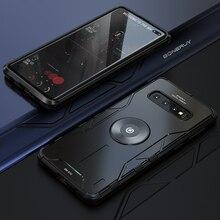 Boîtier En Métal de luxe Pour Samsung Galaxy S10 S20 Ultra Note 10 9 Plus S10plus Note10 Note9 Téléphone Couvre Pour Samsung S20Ultra S20Plus