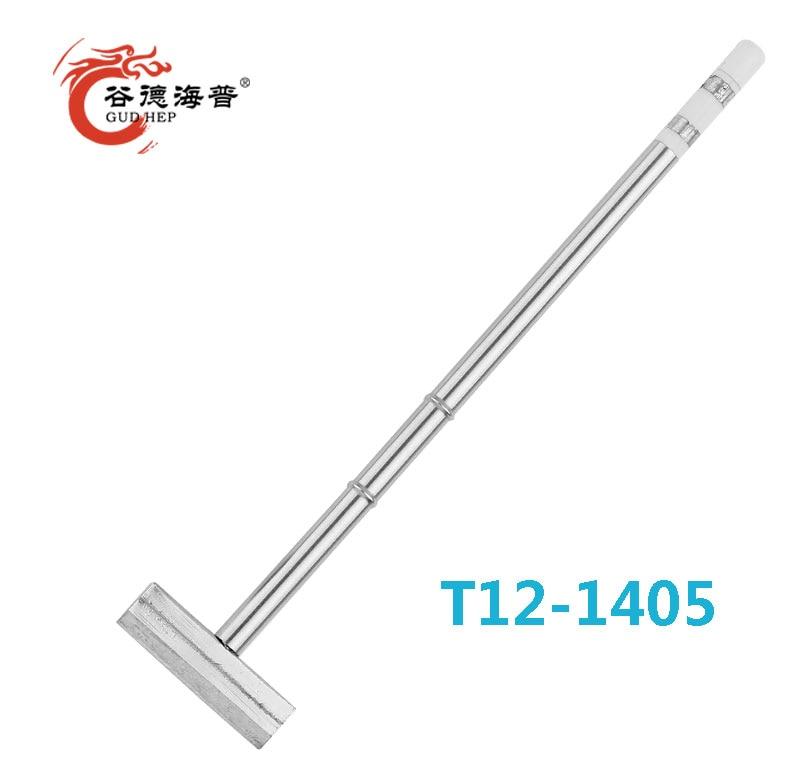 Gudhep T12 Handle Soldering Iron Tips T12 1405  Welding Tips  for T12 Soldering Rework Station