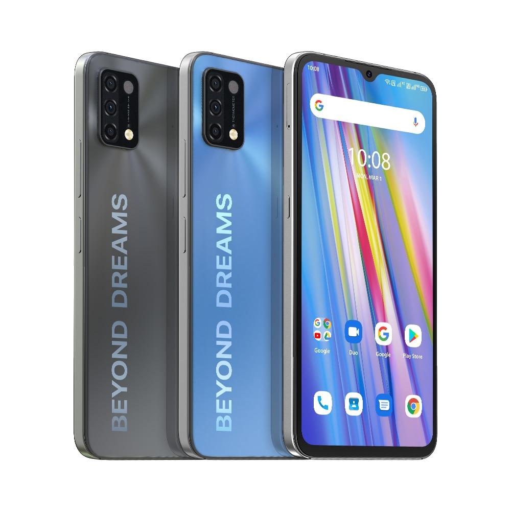 UMIDIGI A11 смартфон 6,53 дюйм HD + Android 11 глобальная версия 16MP Камера 3 ГБ/4 ГБ/64 Гб/128 ГБ Helio G25 Octa Core 5150 мАч мобильный телефон