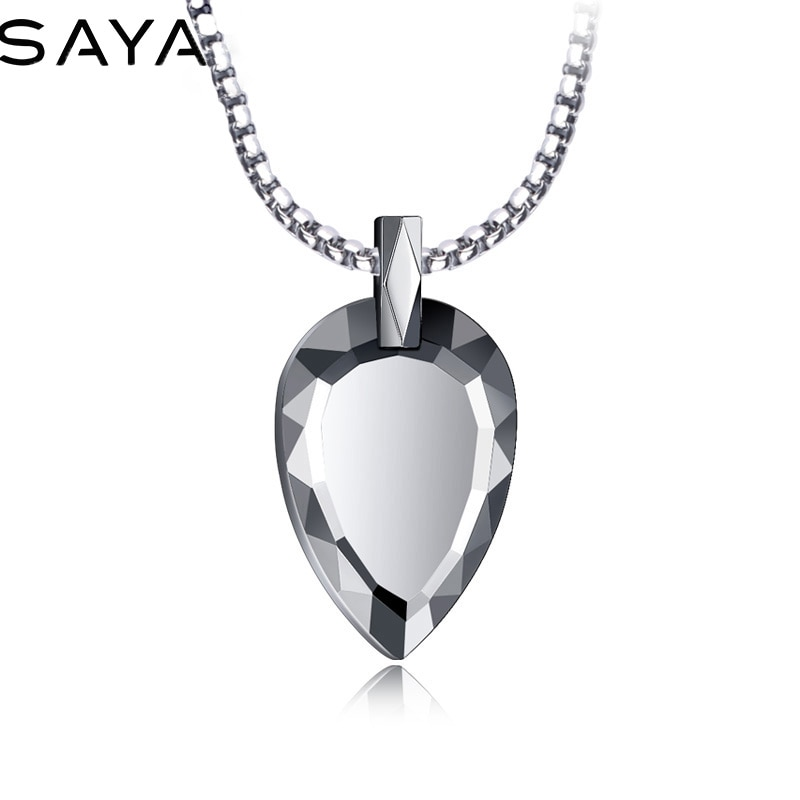 2021 Men Necklace, High Polished Heart Shape Tungsten Carbide Pendants for Men Women Fashion Jewelry, Free Shipping, Engraving free shipping 20 holes hole size 1 10 3 00mm half round shape draw plate jewelry tungsten drawplates