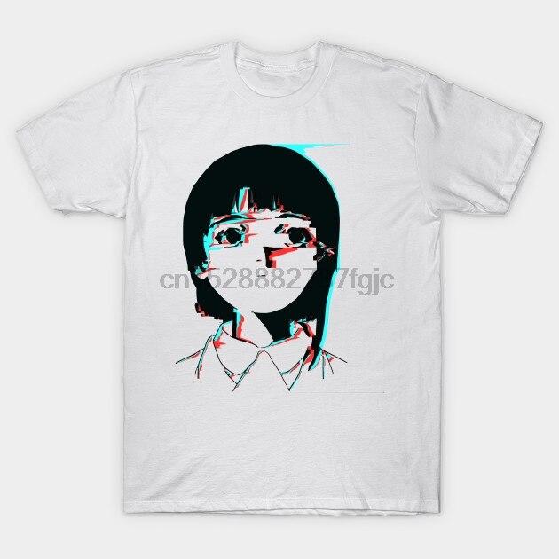 Men tshirt Lain 3D Glitch 01   Lain Iwakura   T Shirt women T-Shirt tees top