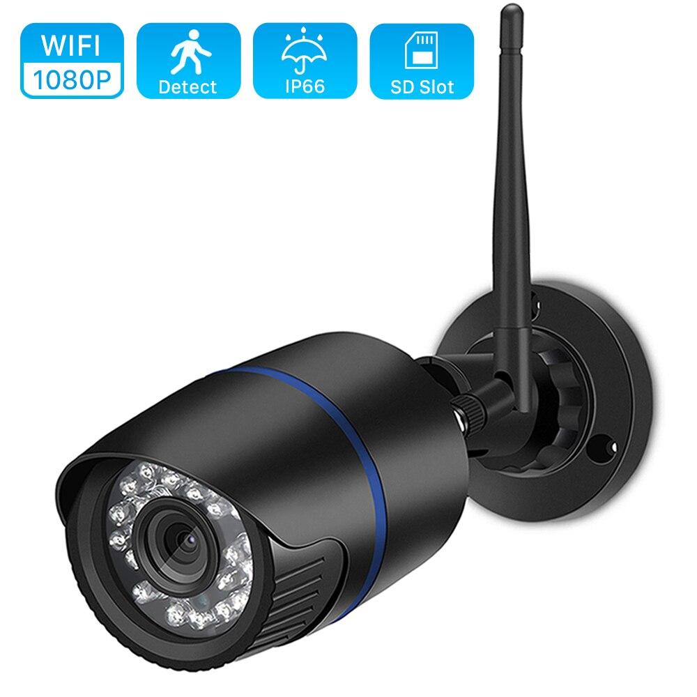 BESDER Yoosee, cámara IP Wifi 1080P 960P 720P ONVIF inalámbrica con cable P2P CCTV, cámara Bullet de exterior con ranura para tarjeta MiscroSD Max 64G