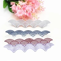 metal cutting die of wavy lace scrapbooking mold paper diy card postcard handmade craft stencil album handcraft embossing moulds