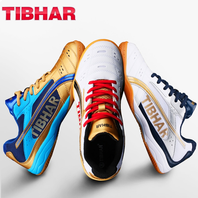 TIBHAR-حذاء تنس طاولة مع صندوق أصلي ، خفيف الوزن ، مريح ، مقاوم للاهتراء ، حذاء رياضي بينج بونج احترافي