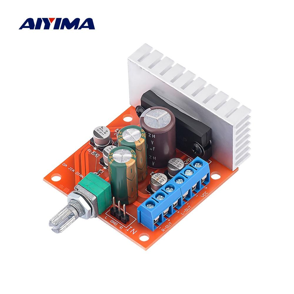 AIYIMA-placa amplificadora de potencia TA7240AP, micrófono, preamplificador de Audio