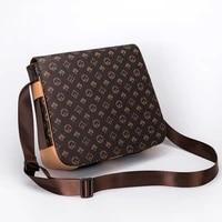 luxury design mens shoulder bag mens diagonal bag mens computer bag business leather bag casual fashion brand mens bag