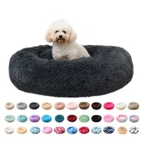 super soft dog bed sofa plush cat mat dog beds for labradors large dogs bed house pet round cushion best dog products